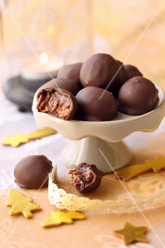 Salidou cream and hazelnut chocolate bites