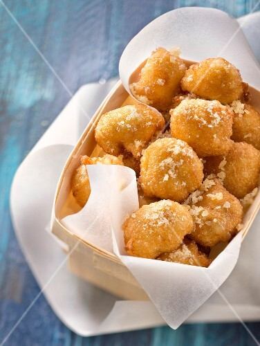 Fizzy sugar fritters