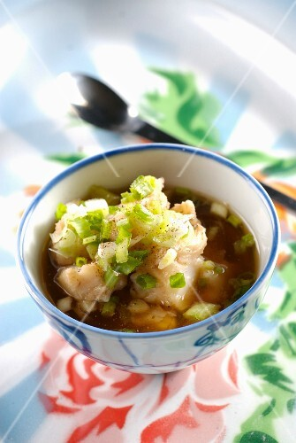 Fish soup with nuoc-mam and tamarind