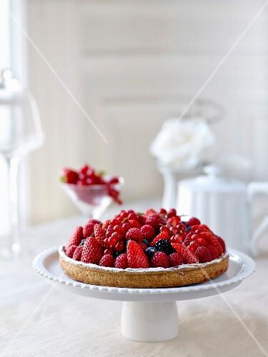 Summerfruit pie