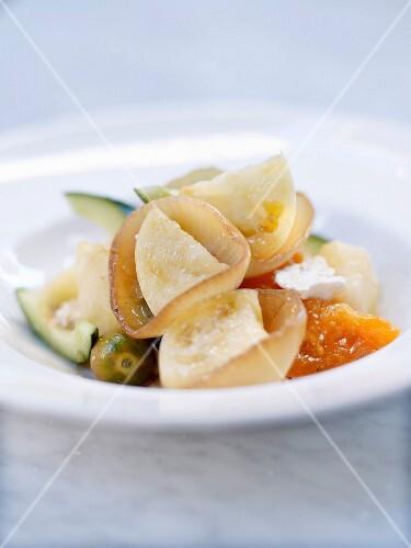 Capri-style onion and confit citrus salad