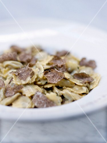 Agnolotti with truffles