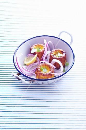Onion savoury Cannelés