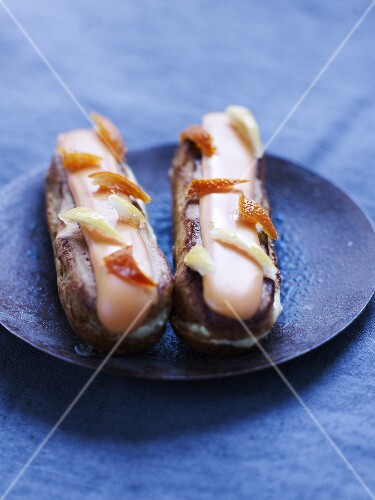 Christophe Felder's candied fruit Eclairs