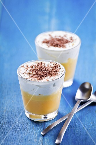 Lemon curd and whipped cream dessert