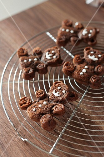 Chocolate bear cookies