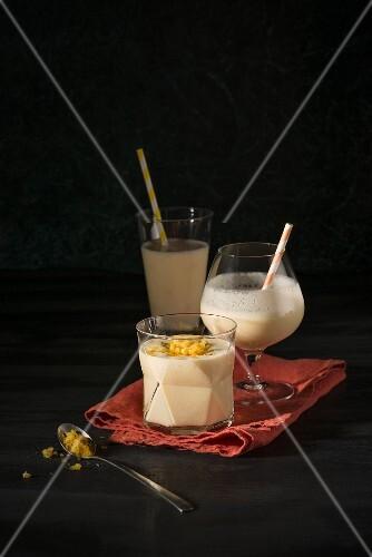 Ginger milkshake