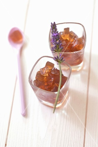 Diced lavander jelly