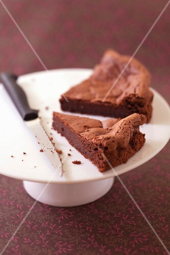 Bellevue chocolate cake by Christophe Felder