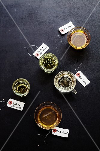 Assortment of oils