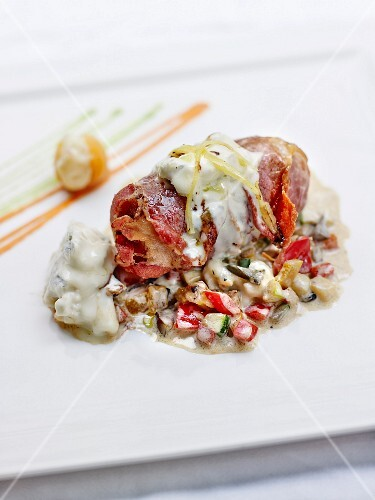 Saltimbocca with gorgonzola