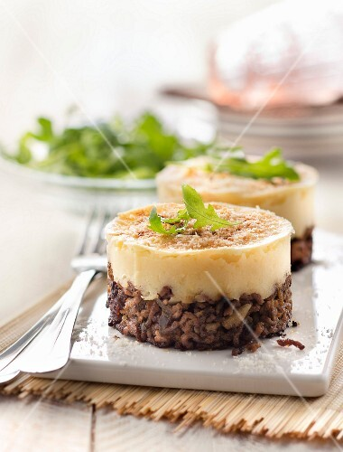 Small parsnip Parmentier