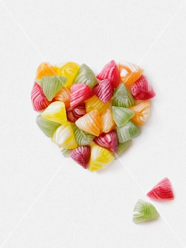Boiled candy heart