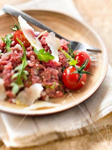 Italian-style beef tartare