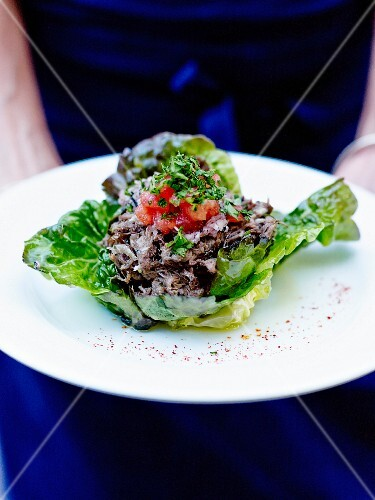 Oxtail salad