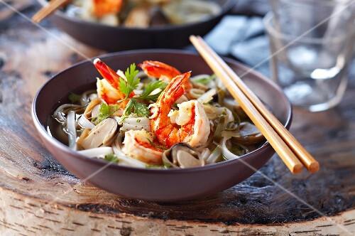 Cambodian shrimp soup