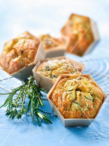 Summer vegetable and ricotta mini savoury cakes