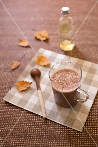 Cow's milk-free hot chocolate
