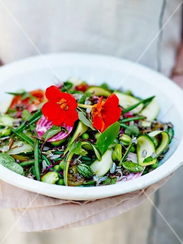 All green salad