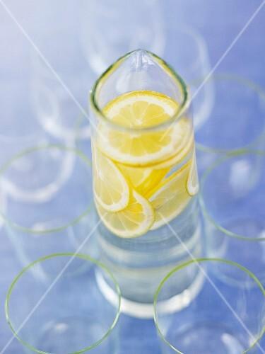 Jug of lemonade