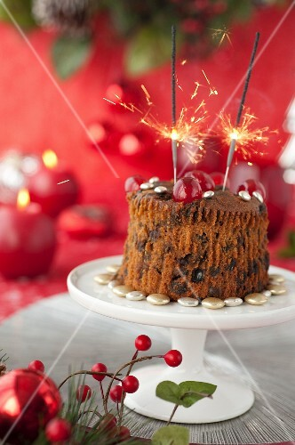 Scottish Christmas pudding