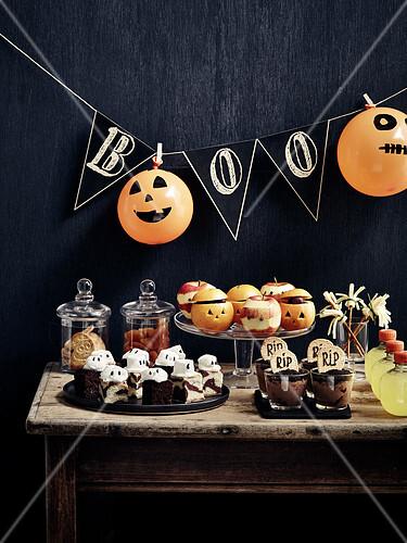 Buffet for Halloween