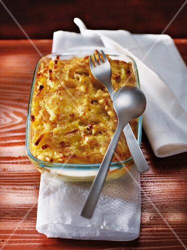 Macaronis gratin