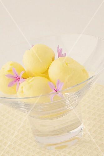 Bowl of butter balls