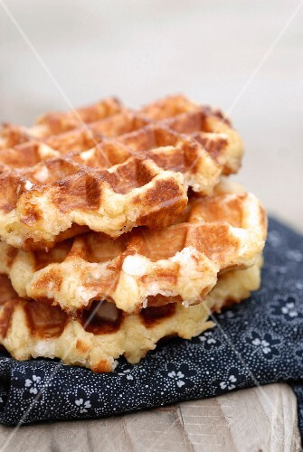 Brown sugar wafles