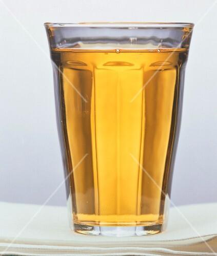 A Single Glass of Apple Juice