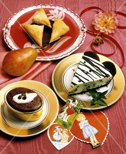 Assorted Desserts for Valentine's Day