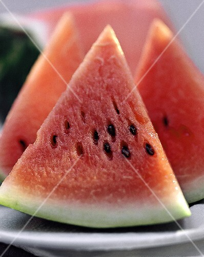 Close Up of Watermelon Wedges