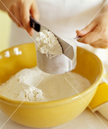 Measuring a Cup of Flour