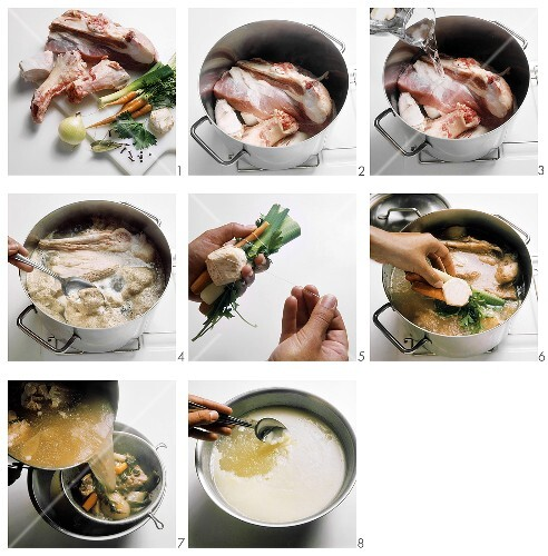 Making veal stock